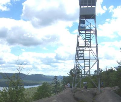 Bald Mountain Fire Tower near Old Forge, NY