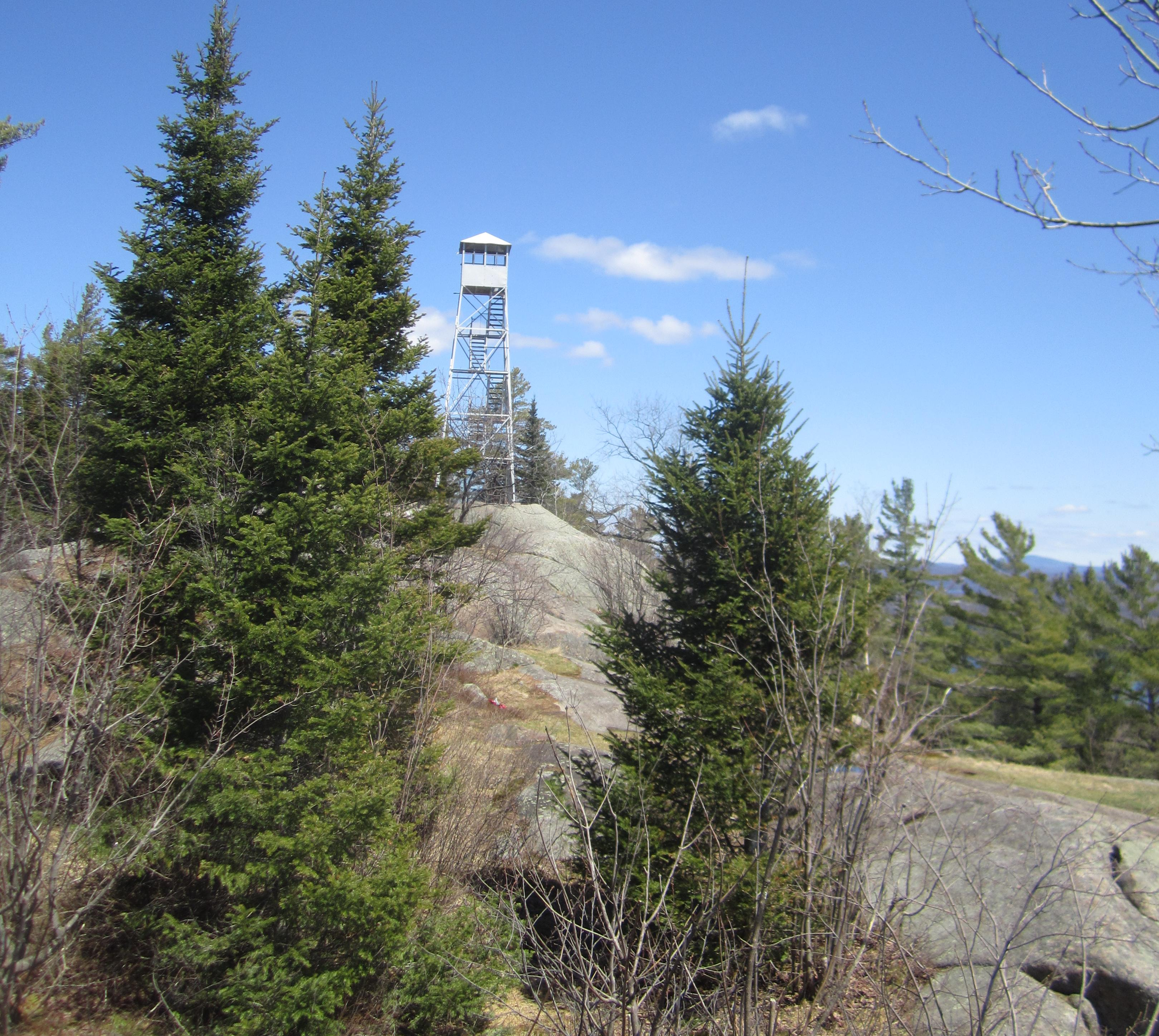 Bald Mountain Fire Tower - April 2014