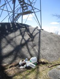 Trash Cleanup on Bald Mountain